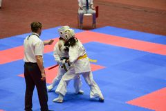 European karate championship stock photography