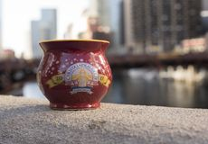 Chicago Christkindlmarket Gluhwein Mug Royalty Free Stock Images