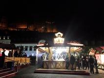 2017 November 29 - Christmas Market in Heidelberg.  Royalty Free Stock Images