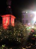 2017 November 29 - Christmas Market in Heidelberg.  Royalty Free Stock Photography
