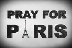 13 November 2015 Concept. Pray for Paris Sign Royalty Free Stock Image