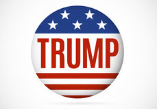 November 14, 2016. Donald Trump political badge. Vector illustration royalty free illustration