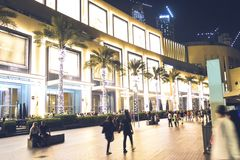 November 15, 2016 - Dubai UAE: The Mall of Emirates, largest shopping mall in the world. royalty free stock photography