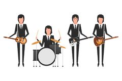 The Beatles band topics. November 19.2017 . Editorial illustration of the Beatles . World Beatles Day on January 16th topic Stock Photo