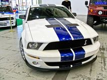 November 3, 2013. Kiev, Ukraine; Ford Mustang Shelby GT500 royalty free stock photography