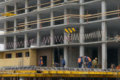 11. November 2016: Foto des Baus von mehrstöckigem residen Stockbild