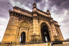 15 november, 2014: Gateway van India in Mumbai, India Stock Afbeelding