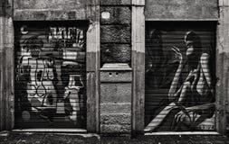 November i Palermo, Sicilien Arkivfoton