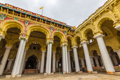 13. November 2014: Innerhalb des Palastes I Thirumalai Nayakkar Mahal Stockfotos