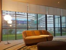 8. November 2016 Jen Puteri Harbour Hotel Johor Baru, Malaysia-Lobbyaufenthaltsraumdesign Stockfotos