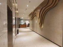 8. November 2016 Jen Puteri Harbour Hotel Johor Baru, Malaysia-Lobbyaufenthaltsraumdesign Stockbild