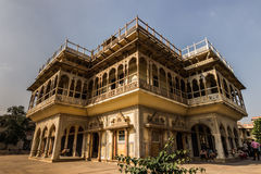 03 november, 2014: Koninklijk paleis van Jaipur, India Stock Foto