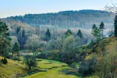 November Landscape from Franconia Royalty Free Stock Image