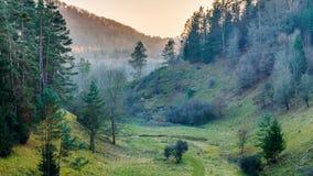 November Landscape from Franconia Stock Images