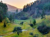 November Landscape from Franconia Royalty Free Stock Photos