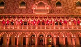 November 2017, Las Vegas Nevada - arkitektur och byggnader på Arkivfoto