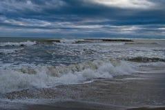 November-Meer und Himmel Stockbilder