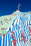 Colourful Salvation Mountain Royalty Free Stock Photography