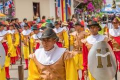 November parade in La Villa in Panama Stock Photography