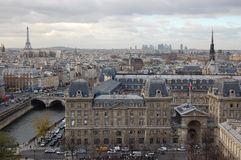 November in Paris Stockfoto