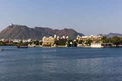 7. November 2014: Pichola See in Udaipur, Indien Stockbilder