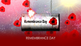 NOVEMBER 11 Remembrance Day Stock Photo