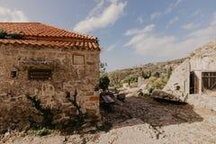 31. November 2018 Ruinen einer mittelalterlichen Festung in der Stadt der Stange von Montenegro - Bild stockfotos