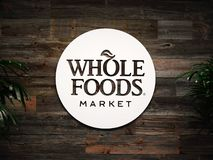 Editorial: Whole Foods Market royalty free stock images