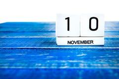10 novembre Photos libres de droits