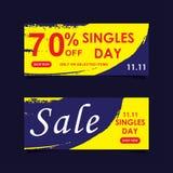 11 novembre insegna di vendita d'avanguardia royalty illustrazione gratis