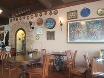7 novembre 2016, Johor, Malaisie George et la cuisine anglaise servie par Dragon Cafe Photo libre de droits