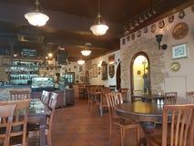 7 novembre 2016, Johor, Malesia Il George e la cucina inglese servita Dragon Cafe Fotografie Stock