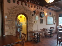 7 novembre 2016, Johor, Malesia Il George e la cucina inglese servita Dragon Cafe Fotografia Stock