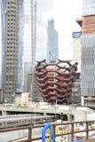 9 novembre, la nave, Hudson Yards, New York La nave è 154 voli delle scale complesso collegati ispirate vicino Fotografia Stock Libera da Diritti