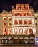 13 novembre 2014 negozio di Cartier sulla nuova via schiava, Londra, decori Fotografie Stock Libere da Diritti