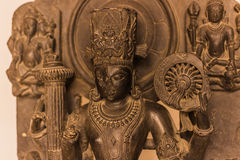 4 novembre 2014: Scultura indù in un tempio a Jaipur, India Immagine Stock Libera da Diritti
