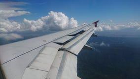 20 novembre 2017 : Vols d'Air Asia de Chiang Rai CEI - Chiang Rai Intl vers Bangkok DMK - Don Mueang Intl Photographie stock