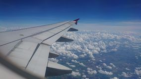 20 novembre 2017 : Vols d'Air Asia de Chiang Rai CEI - Chiang Rai Intl vers Bangkok DMK - Don Mueang Intl Images stock