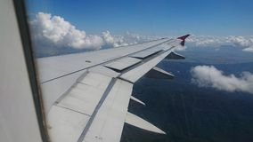 20 novembre 2017 : Vols d'Air Asia de Chiang Rai CEI - Chiang Rai Intl vers Bangkok DMK - Don Mueang Intl Image stock