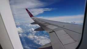 20 novembre 2017 : Vols d'Air Asia de Chiang Rai CEI - Chiang Rai Intl vers Bangkok DMK - Don Mueang Intl Photos stock