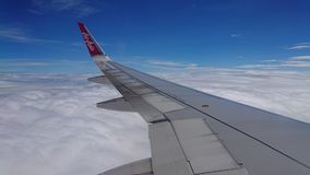20 novembre 2017 : Vols d'Air Asia de Chiang Rai CEI - Chiang Rai Intl vers Bangkok DMK - Don Mueang Intl Photo stock