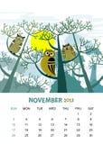 Novembro ilustração royalty free