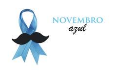 Novembro Azul Стоковые Изображения