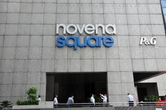 Novena Square department store Royalty Free Stock Photography