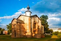 novgorod Chiesa della st Paraskeva Piatnitsa immagine stock