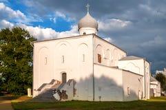Novgorod. Church of the Assumptio Stock Photo