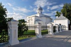 Novgorod. Church of the Assumption Stock Images