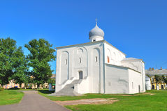Novgorod. Church of the Assumption Royalty Free Stock Photography