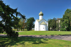 Novgorod. Church of the Twelve Apostles Stock Photos