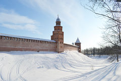 Novgorod citadel. Stock Images